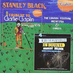 Black, Stanley - Dimensions in Sound/Tribute to Chaplin CD Cover Art