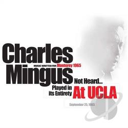Mingus, Charles - At UCLA CD Cover Art