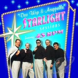 45 Rpm - Acappella Starlight Sessions CD Cover Art