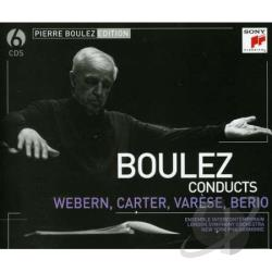Boulez, Pierre - Webern & Varese: Pierre Boulez Edition CD Cover Art
