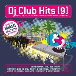 DJ Club Hits, Vol. 9 CD Cover Art