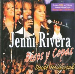 Rivera, Jenni - Besos y Copas Desde Hollywood CD Cover Art