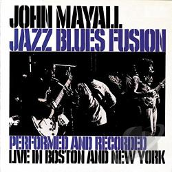 Mayall, John - Jazz Blues Fusion CD Cover Art