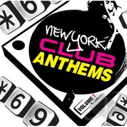 New York Club Anthems, Vol. 1 CD Cover Art