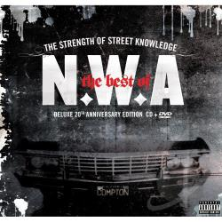 N.W.A - Best of N.W.A. CD Cover Art