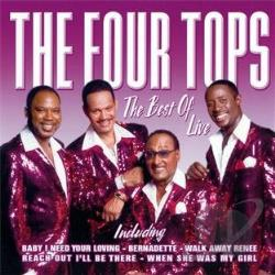 Four Tops - Best Of CD Cover Art