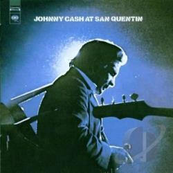 Cash, Johnny - Johnny Cash at San Quentin LP Cover Art