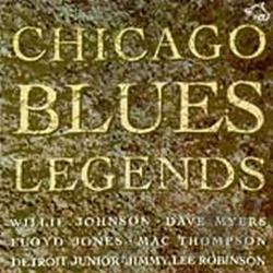 Chicago Blues Legends CD Cover Art