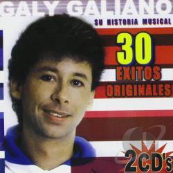 Galiano, Galy - Su Historia Musical CD Cover Art