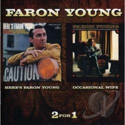 Young, Faron - Here's Faron Young/Occasional Wife CD Cover Art