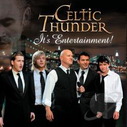 Celtic Thunder - It's Entertainment! CD Cover Art