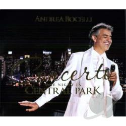Bocelli, Andrea - Concerto: One Night in Central Park CD Cover Art