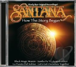 Santana - How The Story Began CD Cover Art
