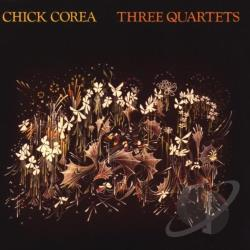 Corea, Chick - Three Quartets CD Cover Art
