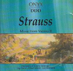 Strauss, J. - Music Of Vienna V.2 CD Cover Art
