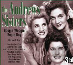 Andrews Sisters - Boogie Woogie Bugle Boy: Greatest Hits CD Cover Art