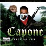 Capone - Raza for Life CD Cover Art