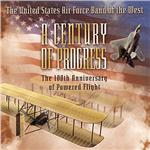 Us Air Force Band of the West - Century of Progress DB Cover Art