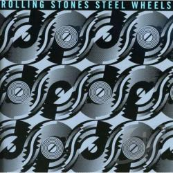 Rolling Stones - Steel Wheels CD Cover Art