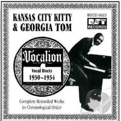 Kansas City Kitty & Georgia Tom - Complete Recorded Works (1930-1934) CD Cover Art