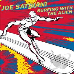 Satriani, Joe - Surfing with the Alien CD Cover Art