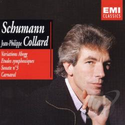 Collard, Jean-Philippe - Schumann: Abegg Variations, Symphonic Etudes, Etc. CD Cover Art