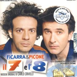 Ficarra E Picone Il 7 E L'8 CD Cover Art