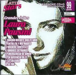 Pausini, Laura - Karaoke Latin Stars CD Cover Art