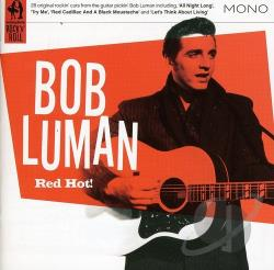 Luman, Bob - Red Hot! CD Cover Art