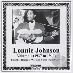 Johnson, Lonnie - Complete Recorded Works Vol. 1 (1937-40) CD Cover Art