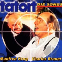 Krug, Manfred/Charles Bauer - Tatort- Die Songs CD Cover Art