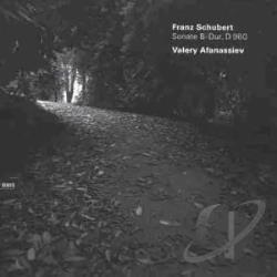 Afanassiev, Valery / Schubert - Piano Sonata in B Flat Major CD Cover Art