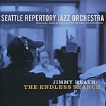 Heath, Jimmy / Jimmy Heath & Seattle Jazz Orchestra / Seattle Repertory Jazz Orchestra - Endless Search CD Cover Art