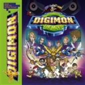 Digimon Soundtrack - Digimon: The Movie (Music From The Motion Picture) DB Cover Art