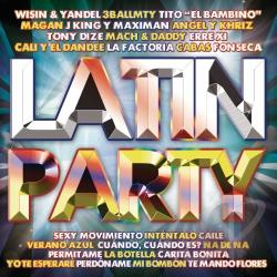 Latin Party CD Cover Art