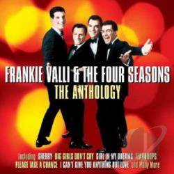 Valli, Frankie & The Four Seasons - Anthology 1956-1962 CD Cover Art