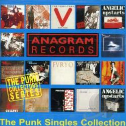 Anagram Punk Singles CD Cover Art