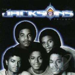 Jacksons - Triumph CD Cover Art