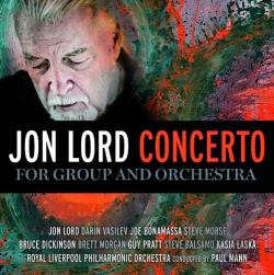 Lord, Jon - Concerto for Group and Orchestra CD Cover Art