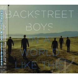 Backstreet Boys - In A World Like This DS Cover Art