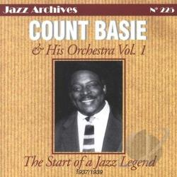 Basie, Count - Start of a Jazz Legend, Vol. 1: 1937 - 1939 CD Cover