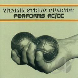 Vitamin String Quartet - Vitamin String Quartet Performs AC/DC CD Cover Art