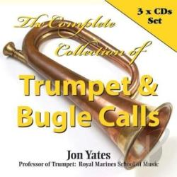 Yates, Professor Jon - Complete Collection Of Trumpet & Bugle Calls CD Cover Art