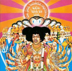 Hendrix, Jimi / Hendrix, Jimi Experience - Axis: Bold as Love LP Cover Art