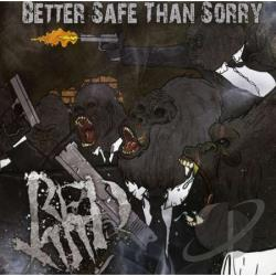 Red 13 - Better Safe Than Sorry CD Cover Art