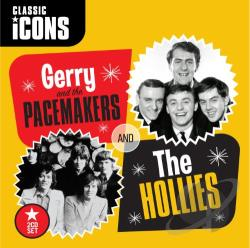 Gerry & The Pacemakers / Hollies - Icons CD Cover Art