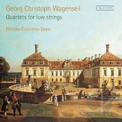 Piccolo Concerto Wien / Sensi / Wagenseil - Georg Christoph Wagenseil: Quartets for Low Strings CD Cover Art