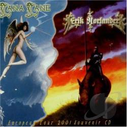 Lana Lane & Erik Norlander - European Tour 2001 CD Cover Art