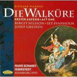 Nilsson / Schmidt-Isserstedt / Wagner - Wagner: Walkure Act 1 CD Cover Art