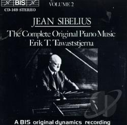 Sibelius / Tawastatjerna - Sibelius: Complete Original Piano Music, Vol. 2 CD Cover Art